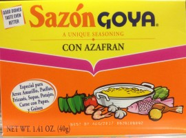 SazonGoya con Azafran 40g