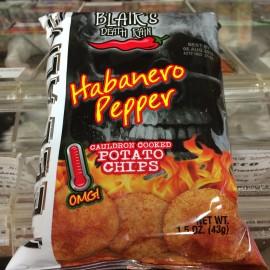 Blair's Death Rain Habanero Potato Chips 43g