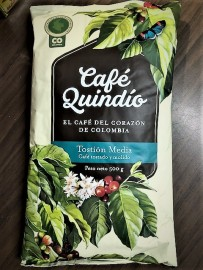 Cafe Quindio Colombian Coffee 500g